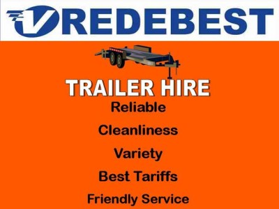 Vredebest Trailer Hire