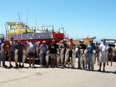 Deep Sea Fishing Charters in Mossel Bay