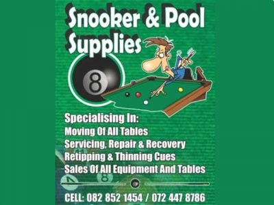 Snooker and Pool Supplies Mossel Bay