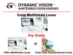 Multifokale Lense Hartenbos