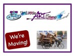 The Little Art Shop is Moving