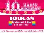 Toucan Material Shop in Mossel Bay