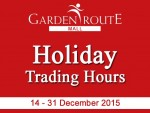 Garden Route Mall Extended Shopping Hours