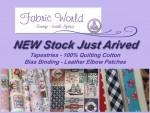 Fabric World New Stock George