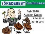 Auctions in Mossel Bay For February