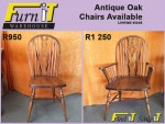Antique Oak Chairs For Sale in George