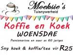 Koffie en Koek Spesiale Aanbod in Mosselbaai