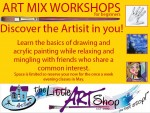 Art Workshops in George During May 2016