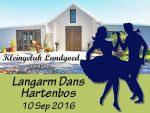 Kleingeluk Langarm Dans in Hartenbos
