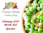 February Month End Specials on Frozen Vegetables in George