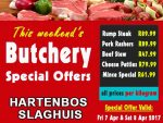 April Holiday Weekend Butchery Special Offers in Hartenbos