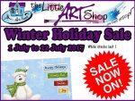 The Little Art Shop Winter Sale