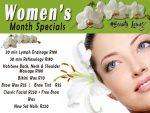 Women's Month Beauty Specials in Hartenbos