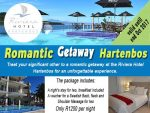 Romantic Getaway Special Offer in Hartenbos