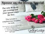 Accommodation Special at George Lodge