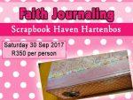 September Faith Journaling Class in Hartenbos