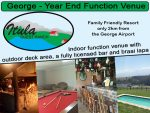 Year-End Function Venue in George
