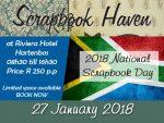 National Scrapbook Day by Scrapbook Haven in Hartenbos
