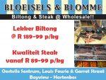 Biltong en Steak in Hartenbos