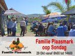Familie Plaasmark oop Sondag in Hartenbos
