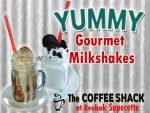 Gourmet Milkshakes at The Coffee Shack in Reebok