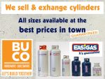 Best Prices on Gas Cylinders in George