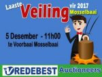 Desember Veiling in Mosselbaai by Vredebest Auctioneers