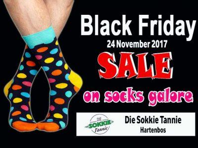 Black Friday Socks Sale in Hartenbos