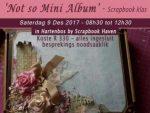 Scrapbook Klas 9 Desember 2017 Hartenbos