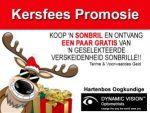 Kersfees Sonbril Promosie in Hartenbos