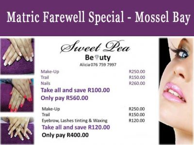 Mossel Bay Matric Farewell Beauty Special