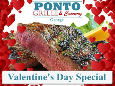 Valentine's Day Restaurant Special at Ponto in George