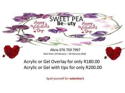 Valentines Day Beauty Special Offer Hartenbos