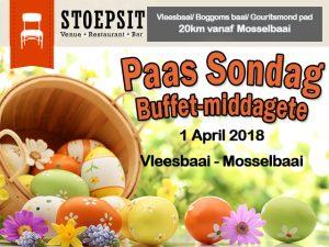 Paas Sondag Buffet-middagete Vleesbaai Mosselbaai