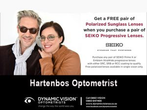 Polarized Sunglass Lenses Promotion in Hartenbos