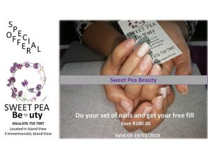 Professional Nails Special Offer in Hartenbos