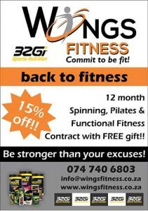 Gymnasium Contract Special Offer Mossel Bay