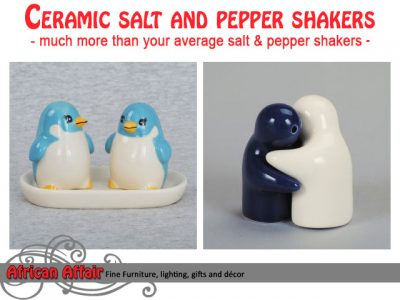 Ceramic Salt and Pepper Shakers Wholesale Supplier South Africa