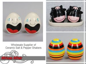 Ceramic Salt and Pepper Shakers Supplier