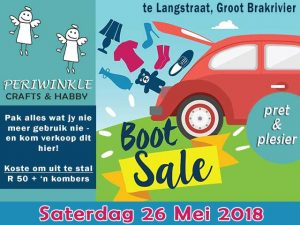 Periwinkle 'Car Boot Sale' in Groot Brakrivier