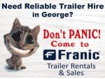 Reliable Trailer Hire in George
