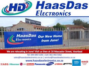 HaasDas Electronics Mossel Bay Relocating Soon