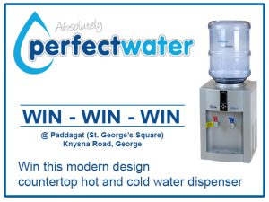 Refill and Win a Water Dispenser from Absolutely Perfect Water in George