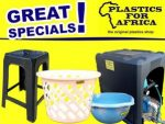 Great Specials at Plastics for Africa in George