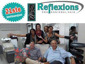 Salon Reflexions vier 21ste bestaansjaar