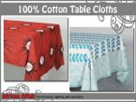 Wholesale Supplier of 100% Cotton Table Cloths in South Africa