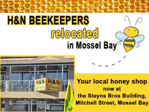 Local Honey Shop Relocated in Mossel Bay