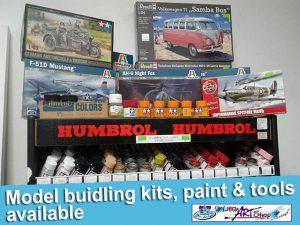 New Model Building Kits in Stock