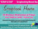 'Scrap and Chat' Scrapbooking Mossel Bay