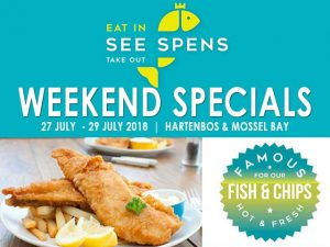 Weekend Fish and Chips Specials Mossel Bay Hartenbos